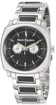 Hush Puppies Men's HP.7044M.1502 Silver Stainless Steel Band Watch.