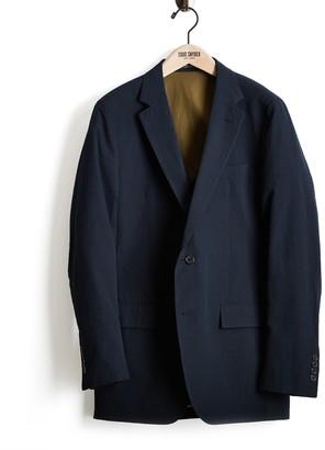 Todd Snyder Black Label Seersucker Sutton Suit Jacket in Navy
