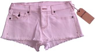 True Religion White Denim - Jeans Shorts for Women