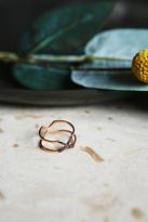 Zoe Chicco Womens 14K MIXED DIAMOND X RING