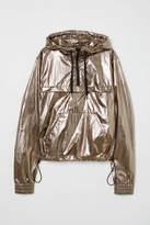 H&M Shimmering Metallic Anorak