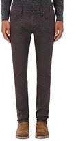 John Varvatos Men's Wight Slim Jeans-BURGUNDY