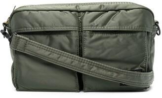 Porter-Yoshida & Co Logo-Patch Shoulder Bag