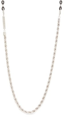 Frame Chain - Hey Shorty Gold-plated Glasses Chain - Womens - Silver