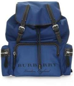 Burberry Leather Strap Rucksack