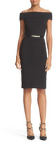 Ted Baker Vindy Bardot Shimmer Knit Body-Con Dress