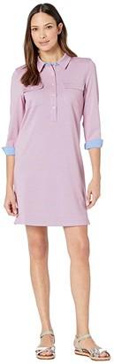Vineyard Vines UPF Margo Shirtdress (Washed Neon Pink) Women's Clothing
