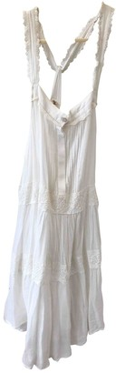 Spell & The Gypsy Collective White Cotton Dress for Women