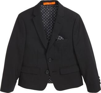 Tallia Solid Wool Blend Sport Coat