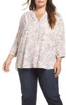 NYDJ Plus Size Women's High/low Blouse