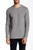Helmut Lang Textured Knit Crew Neck Pullover