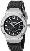 Salvatore Ferragamo Women's FIG020015 F-80 Analog Display Quartz Black Watch