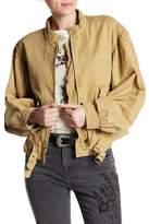 Free People Poet Blouson Sleeve Jacket