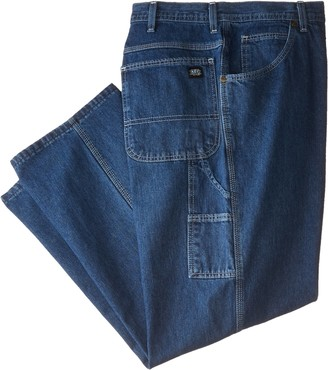 Key Apparel Men's Big-Tall Denim Dungaree