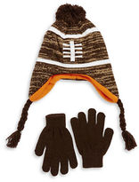 Capelli New York Football Hat and Gloves Set