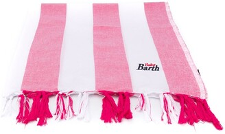 Mc2 Saint Barth Kids Fouta striped beach towel