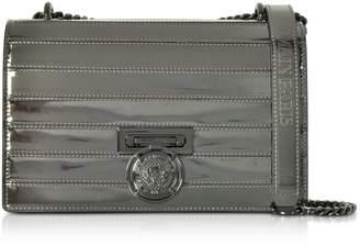 Balmain Bbox 25 Mirror-effect Leather Bag