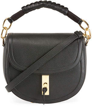 Altuzarra Braided Top-Handle Saddle Bag