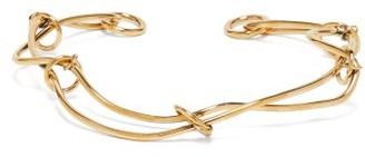 Alexander McQueen Twisted Knot Choker - Gold