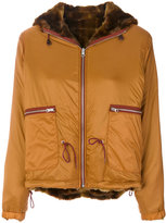 Bellerose hooded bomber jacket
