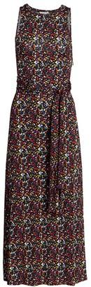 Tanya Taylor Octavia Floral Midi Dress