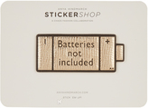 Anya Hindmarch Batteries Not Included small sticker