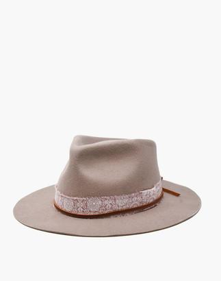Madewell WYETH Tyler Fedora Hat