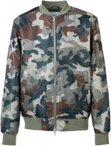 Wesc camouflage bomber - men - Polyester - S