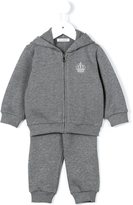 Dolce & Gabbana embroidered crown track suit