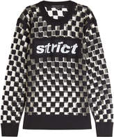 Alexander Wang Checkerboard Wool Pullover