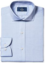 Buttoned Down Men's Big and Tall Non-Iron Slim-Fit Cutaway-Collar Solid Dress Shirt
