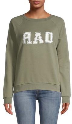 South Parade Raglan Sleeve Graphic Sweatshirt