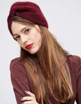 Asos Fluffy Rib Turban Hat
