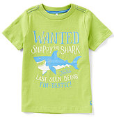 Joules Little Boys 3-6 Ben Short-Sleeve Shark Graphic Tee