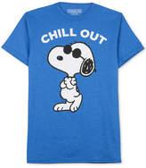 JEM Men's Peanuts Please Don't Kill My Chill T-Shirt
