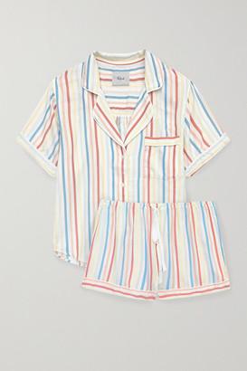 Rails Darcie Striped Voile Pajama Set - Blue