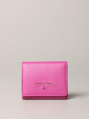 Patrizia Pepe Wallet In Leather With Metallic Logo