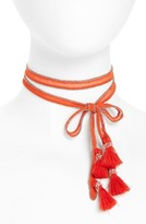 Chan Luu Women's Chiffon Tie Necklace