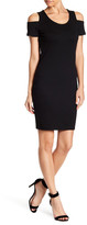 Jessica Simpson Kara Cold Shoulder Sheath Dress