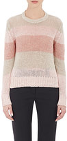 Barneys New York Women's Rib-Knit Crop Sweater-PINK