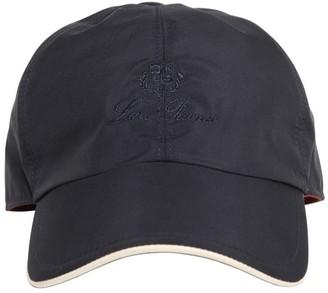 Loro Piana Logo Embroidery Wind Storm System B Cap