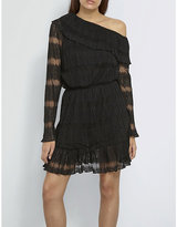 Missguided Flared lace dress