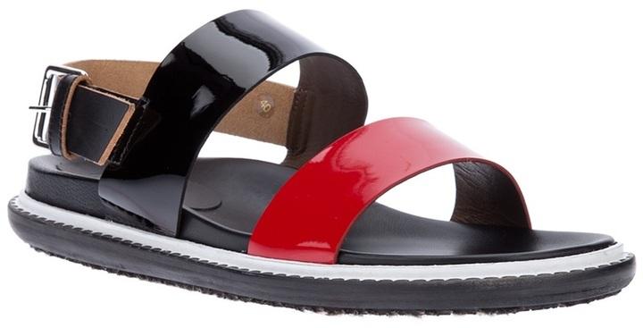 Marni colour block sandal