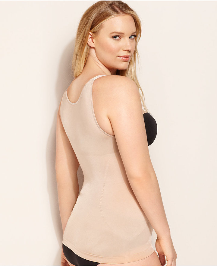 Spanx Star Power by Plus Size Extra Firm Control Power Play Open Bust Tank 1963P