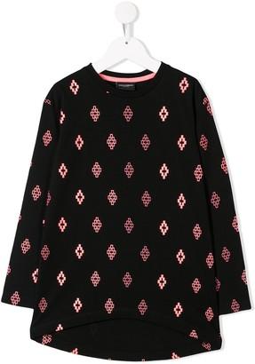 Marcelo Burlon County of Milan Kids Cross logo print sweatshirt