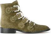 Givenchy buckled boots - women - Leather - 35