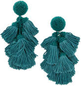 Sachin + Babi Cha Cha Fringe Clip On Earrings