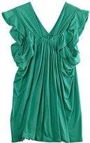 Tsumori Chisato Ruffle Sleeve Jersey Top