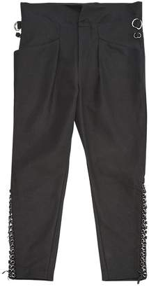 Isabel Marant Black Linen Trousers