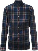 Lanvin checked pattern flannel shirt - men - Virgin Wool - 39